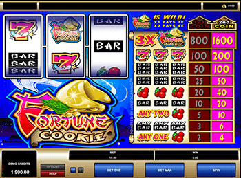 Игровой аппарат Fortune Cookie