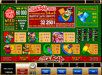 Игровой автомат Gift Rap