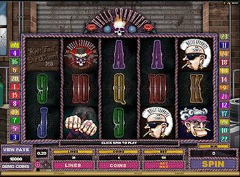 Игровой аппарат Hells Grannies