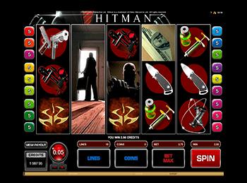 Игровой аппарат Hitman